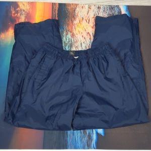 Nike vintage windbreaker pants size large